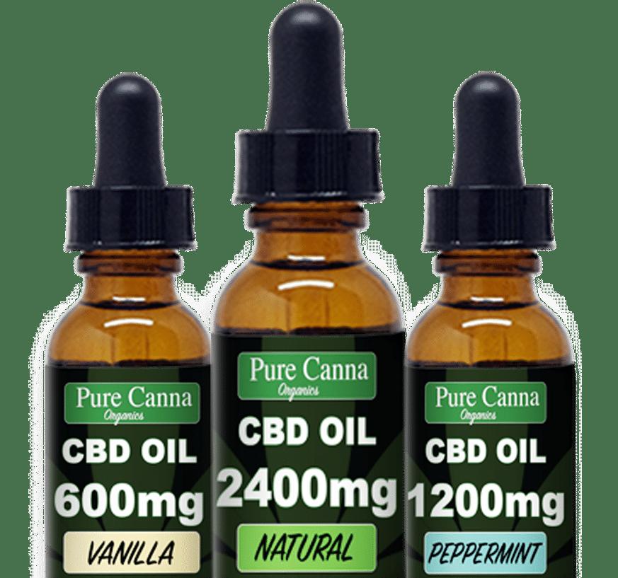 cbd oil - pure canna organics